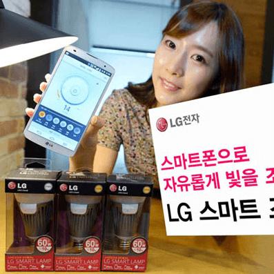 LG Bluetooth LED Leuchte Smart Lamp