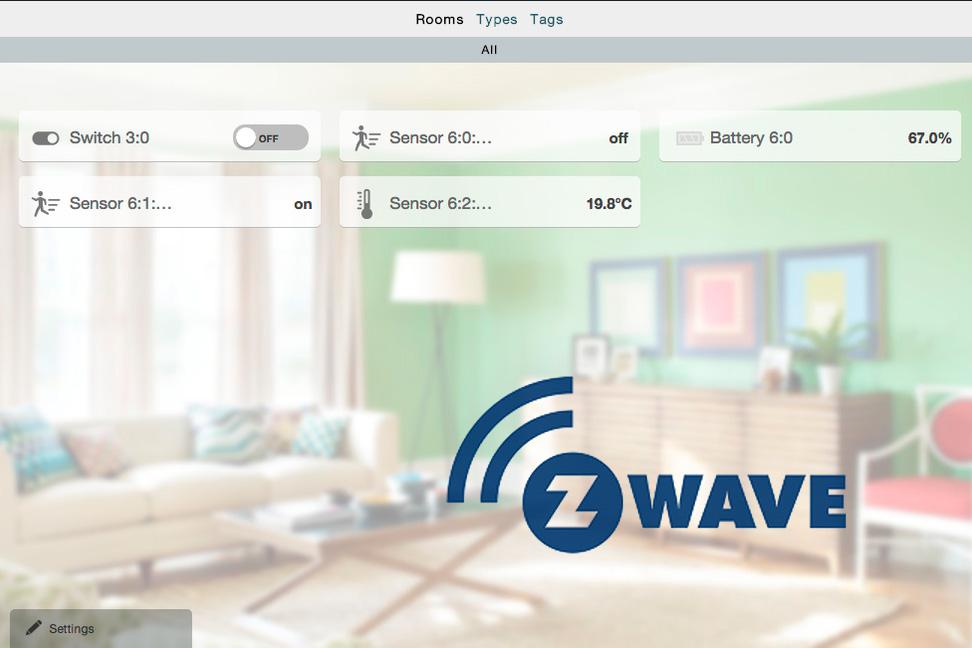 Z-Way GUI