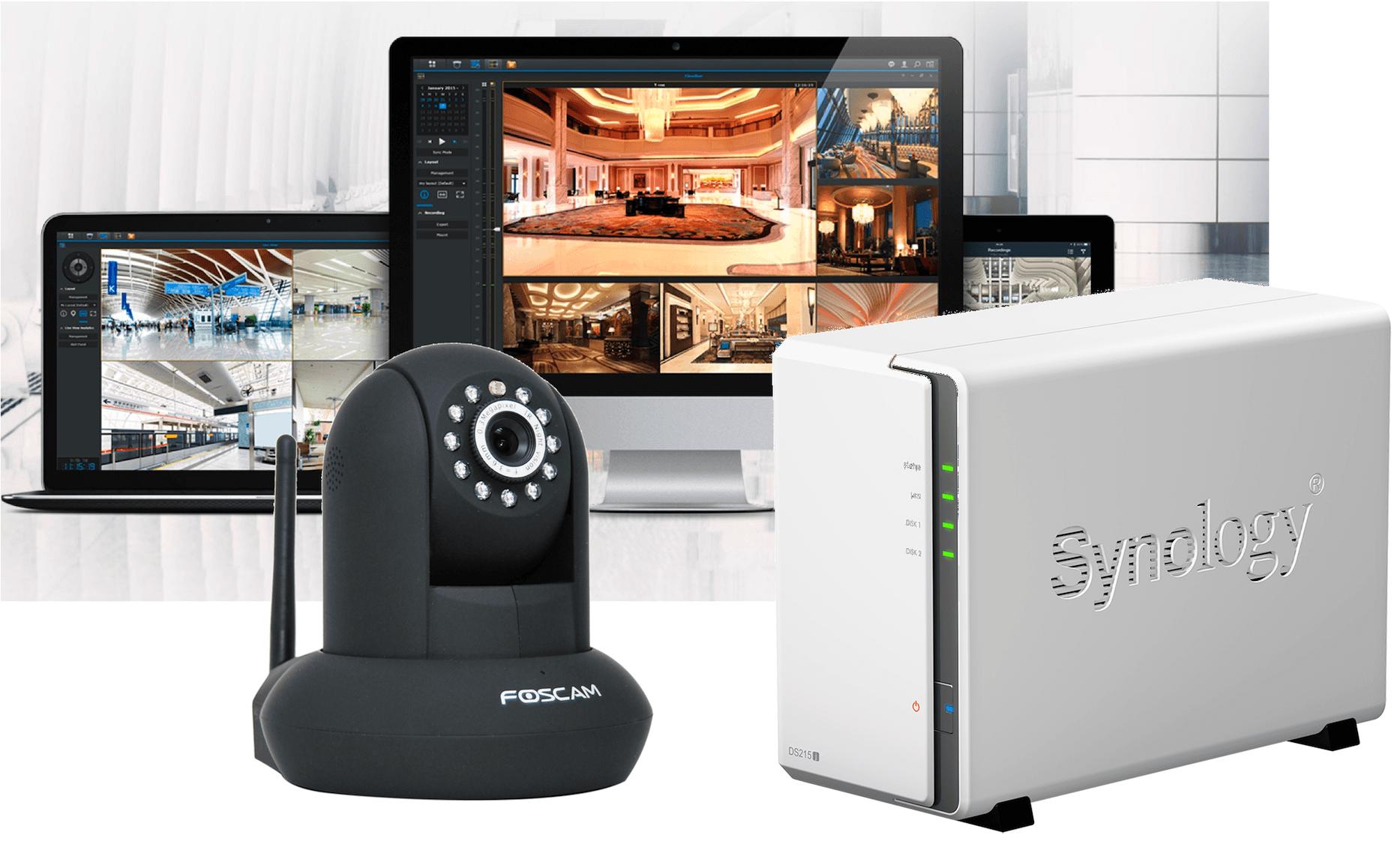Foscam IP Kamera in Synology Surveillance Station einrichten