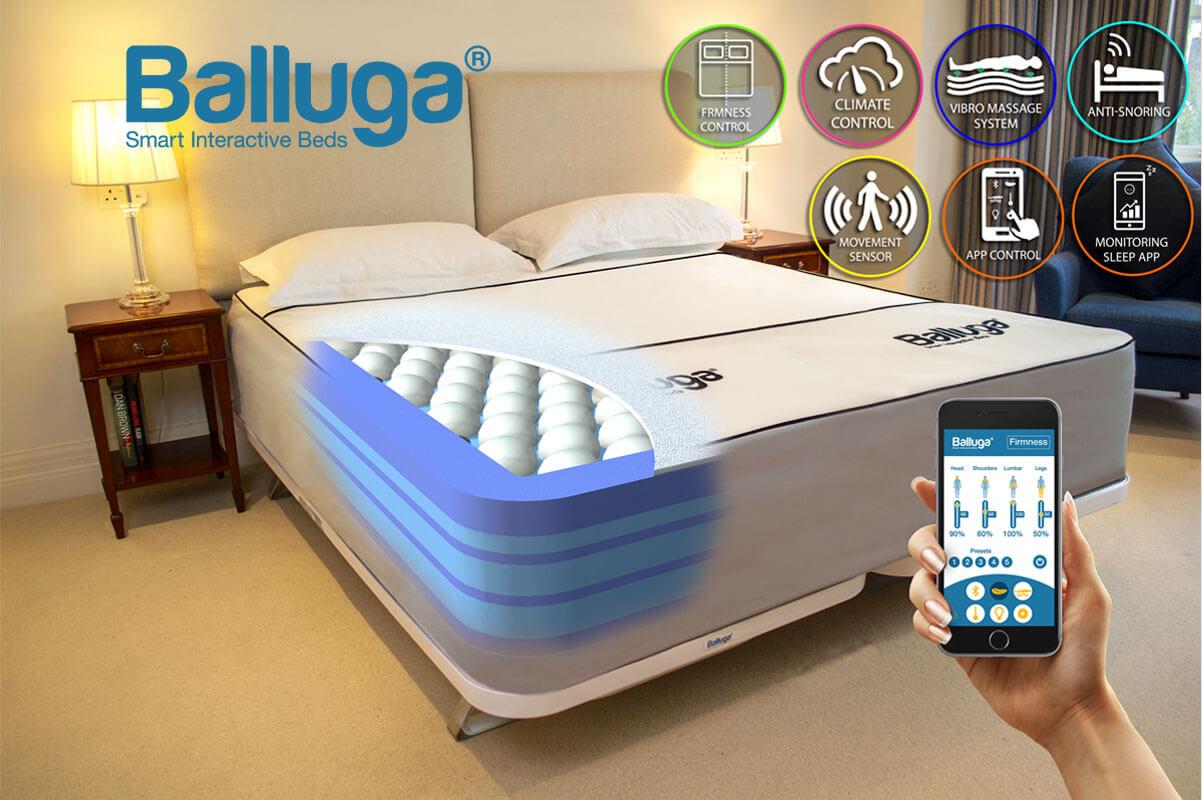 Balluga Matratze mit Bett