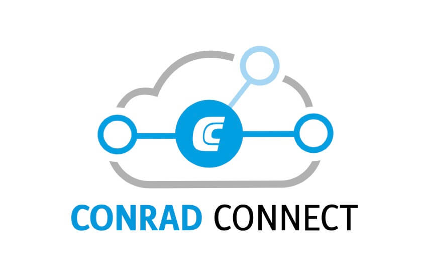 Conrad Connect Logo mit Cloud