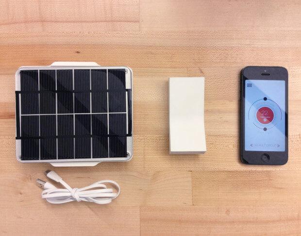 FlipFlic Jalousiensteuerung mit Solarpanel