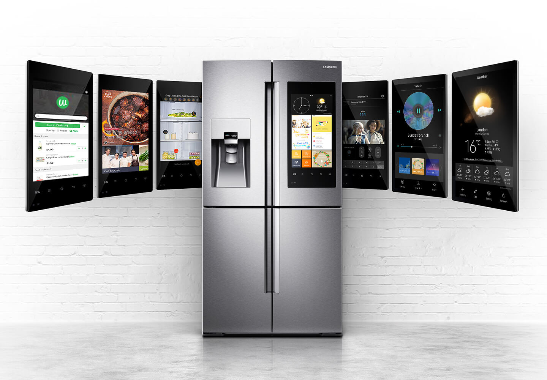 Samsung Bixby im Family Hub 2.0 Kühlschrank