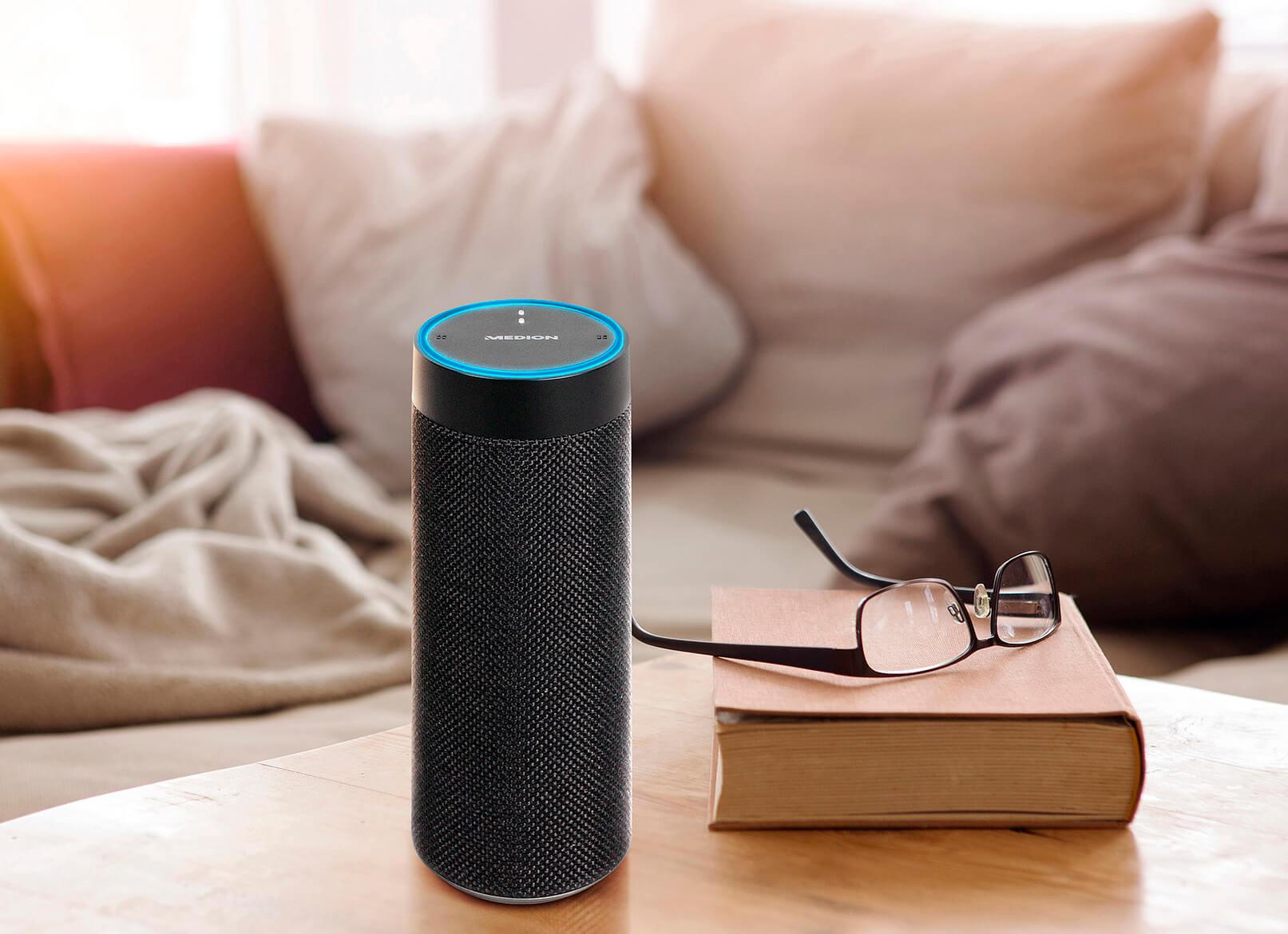 Medion-Life-P61110-Smart-Speaker-mit-Alexa-und-Multiroom