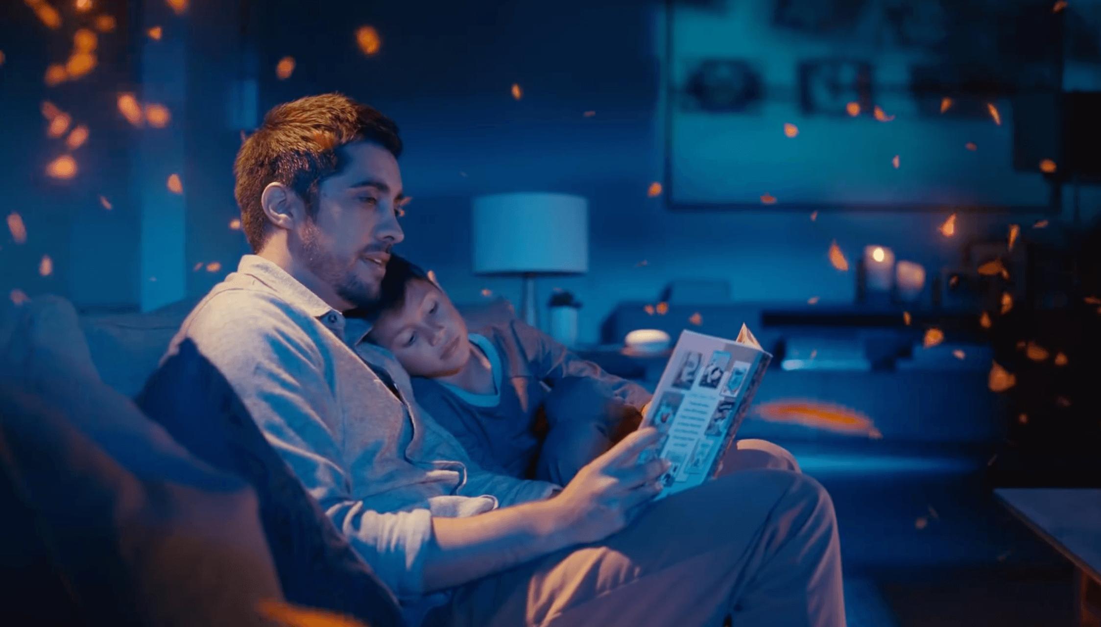 Mit dem Google Home Smart Speaker Disney Geschichten lesen