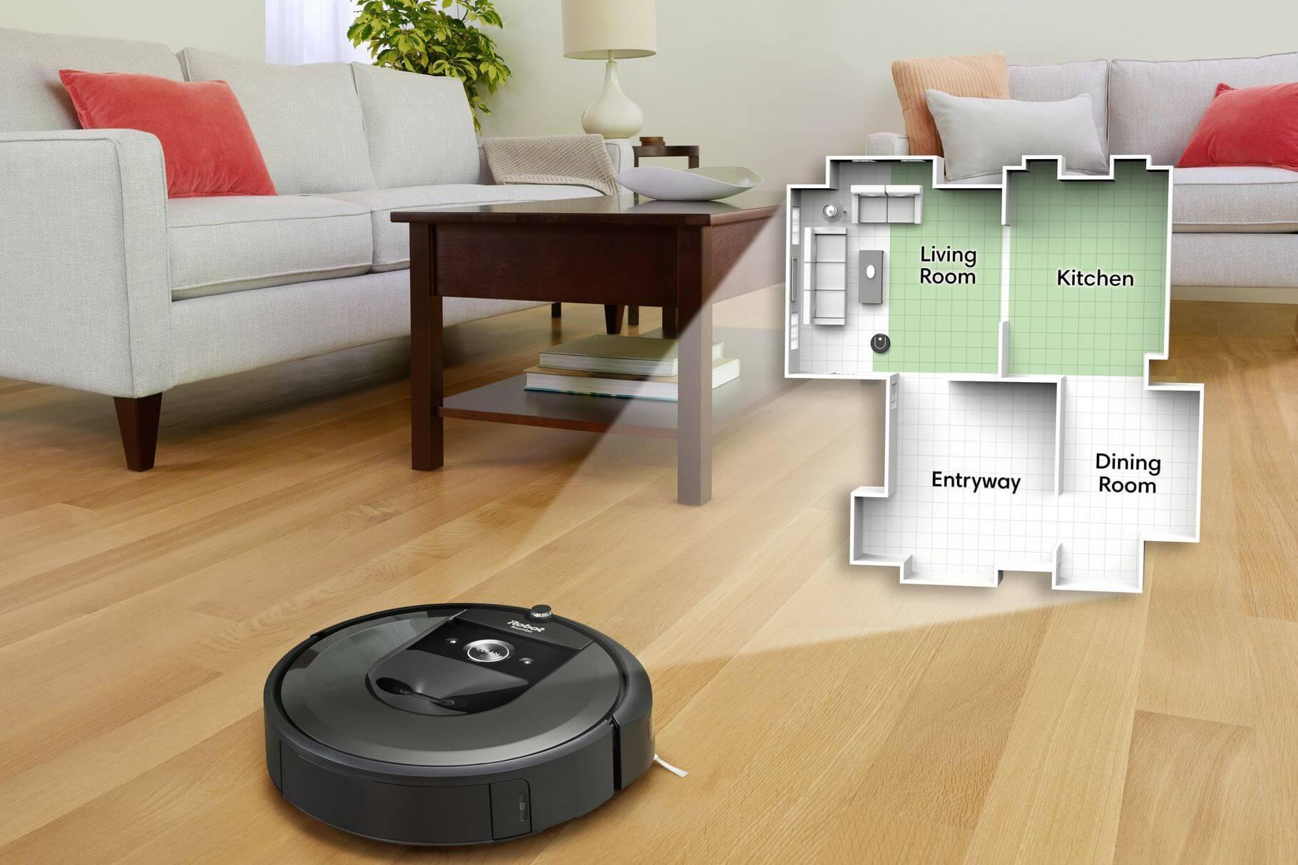 iRobot und Google wollen Roomba Kartendaten nutzen, um unser Smart Home zu optimieren