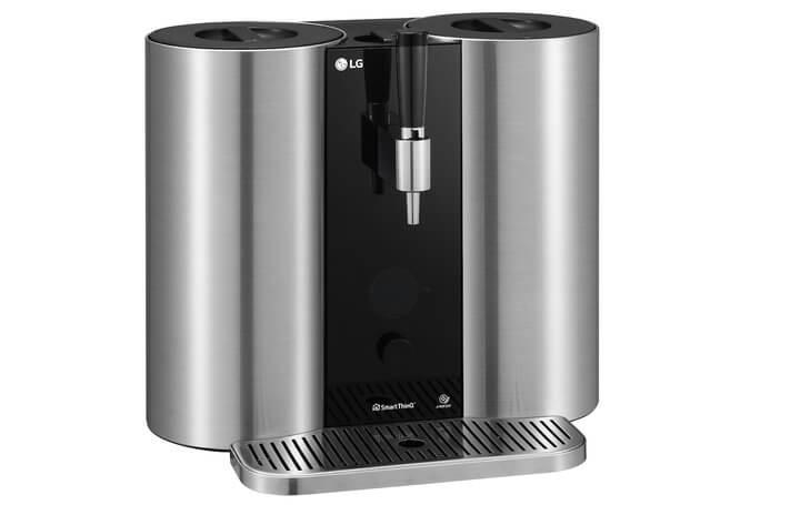 LG HomeBrew ist der Bier-Automat für Zuhause mit SmartThings