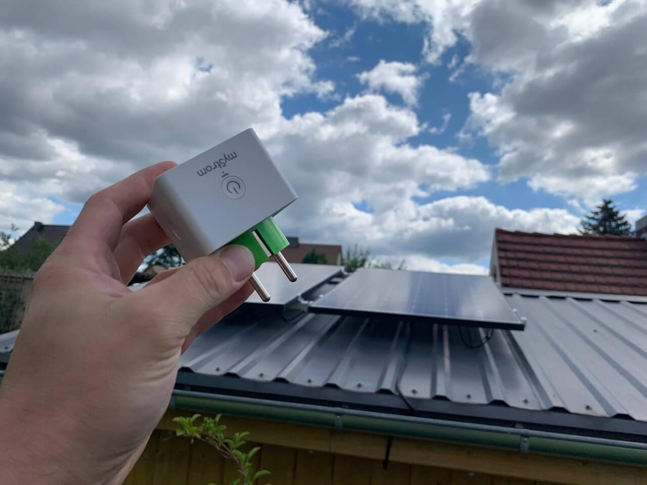 Leistung der Mini-PV Anlage messen: Diese Steckdosen gehen! | SmartHome Blog