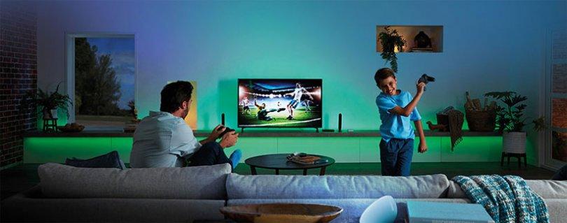 Philips Hue HDMI Sync Box erhält Sprachsteuerung und Dolby Vision/HDR10+