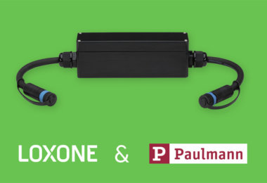 Loxone Plug & Shine Connection Box für Paulmann Plug & Shine Gartenbeleuchtung