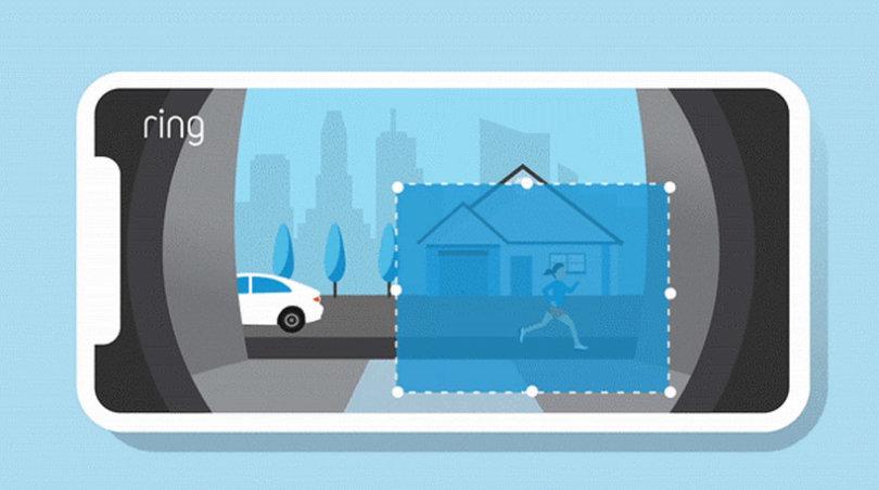 Benutzerdefinierte Bewegungszonen für akkubetriebenen Videotürklingeln und Kameras von Ring
