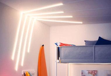 IKEA stellt flexible Lichtleiste MYRVARV vor