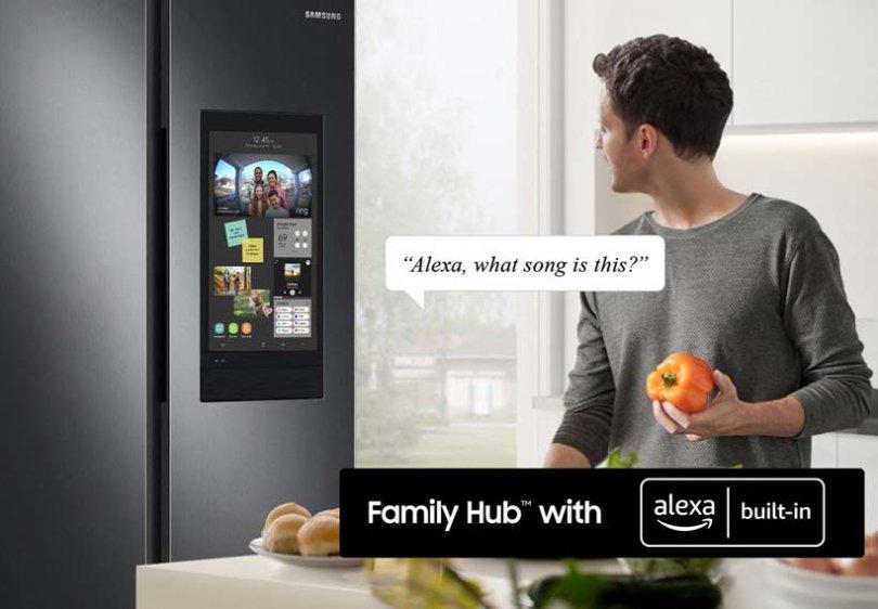 Samsung stellt sechste Generation des Family Hub mit Alexa Built-In vor